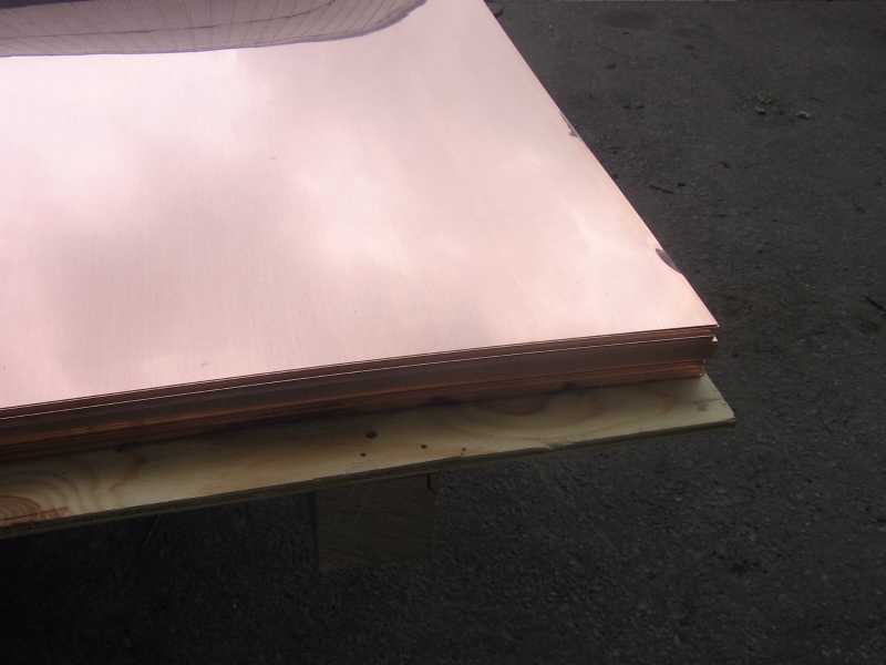 Leaded Copper Sheets : Copper sheets